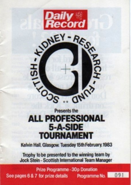 Kidney research 5 a sides 1983