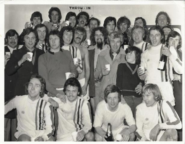 Promotion celebrated at Dens Park 1977