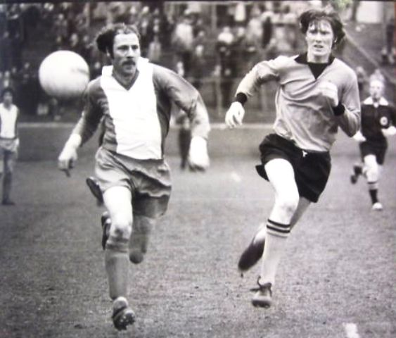 Spring Cup S-F v Dumbarton 1976