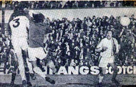 Scottish Cup v Hearts 1976